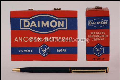 Anodenbatterie 16075; Daimon, (ID = 300122) Power-S