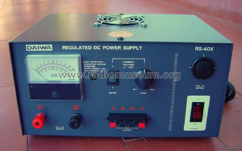 Regulated DC power supply RS-40x; Daiwa Industry Co, (ID = 1244787) Power-S