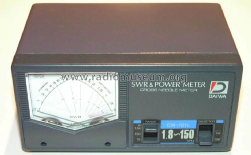 SWR & Power Meter CN-101L; Daiwa Industry Co, (ID = 591849) Amateur-D