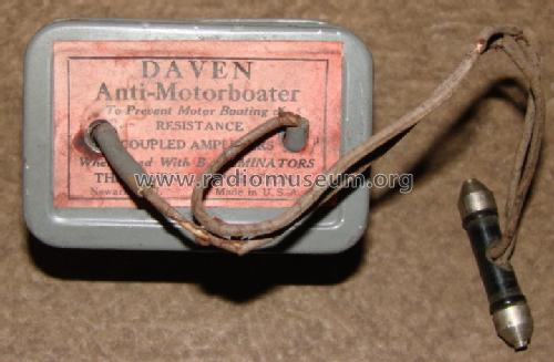 Anti-Motorboater ; Daven Radio Co. ; (ID = 1289582) Diverses