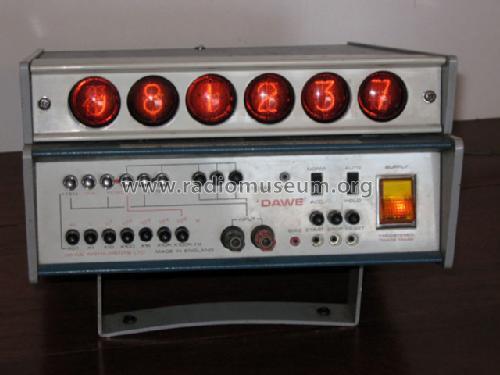 Digital Frequency Meter : Digital frequency meter counter equipment dawe instrument