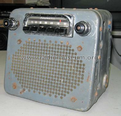 Delco-Remy Sonomatic 981651 Car Radio United Motors Service