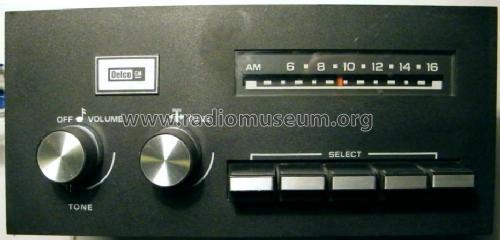 Delco Remy 16018430 Car Radio United Motors Service Delco B