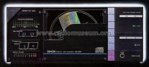 Compact disc player / Precision audio component DCD-2000; Denon Marke / brand (ID = 673920) R-Player
