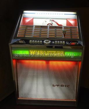Lyric E R-Player Deutsche Wurlitzer GmbH, build 1964, 4 pict