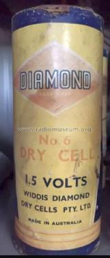 Diamond 1.5 Volt Dry Cell No. 6; Diamond brand, (ID = 2463570) Power-S
