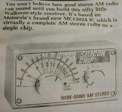 Silicon Chip - Wideband AM Stereo Radio K-5200 Kit Dick Smit