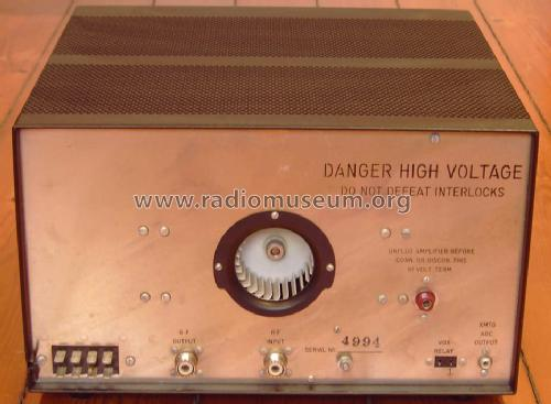Linear Amplifier L-4B RF-Ampl  Drake, R L  Miamisburg, Ohio,