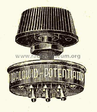 Potentiator PD ; Dralowid-Werk (ID = 1455739) Radio part