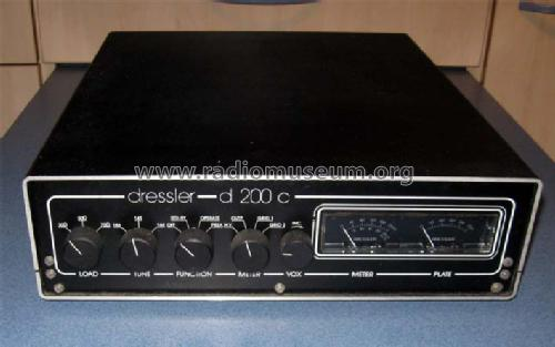 VHF Linear Amplifier D200C; Dressler (ID = 962446) Amateur-D