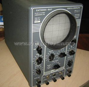 Cathode-Ray Oscillograph 274A; DuMont Labs, Allen B (ID = 880954) Equipment