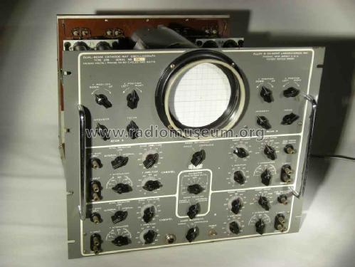 DuMont Labs, Allen B Dual-Beam Oscilloscope 279 from Basil Burkhardt ...