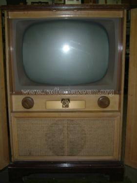 Ra 166 television dumont labs allen b inc build 1953 for Domon television