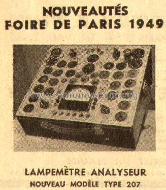 lampem tre 207 equipment dynatra paris build 1949 1 pictu. Black Bedroom Furniture Sets. Home Design Ideas