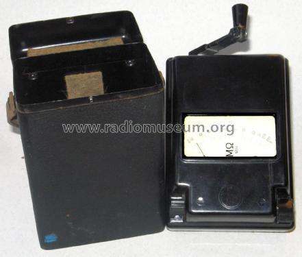 Isolationsmesser mit Kurbelinduktor MG3; EAW, Elektro- (ID = 2580939) Equipment
