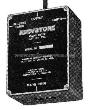 Anti-interference filter unit 732; Eddystone, (ID = 2308453) A-courant