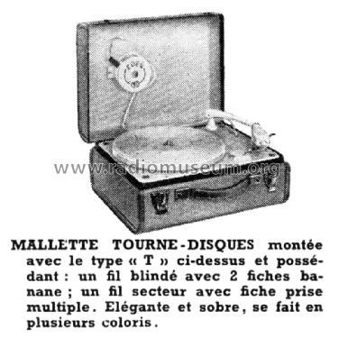 mallette tourne disques ch t r player eden lectronique. Black Bedroom Furniture Sets. Home Design Ideas