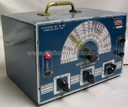 Audio Generator 377; EICO Electronic (ID = 216767) Equipment