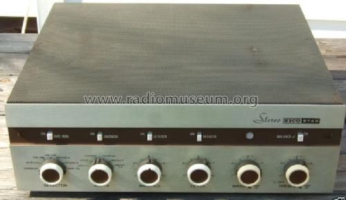 Integrated Stereo Amp ST40; EICO Electronic (ID = 451503) Ampl/Mixer