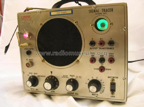 Signal Tracer 147; EICO Electronic (ID = 644115) Equipment