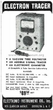 Signal Tracer Electron Tracer w/ VTVM; EICO Electronic (ID = 1931875) Ausrüstung