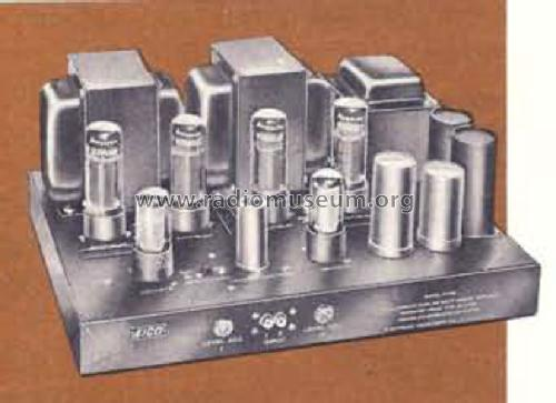 Stereo Dual Power Amplifier HF89A; EICO Electronic (ID = 1589786) Ampl/Mixer