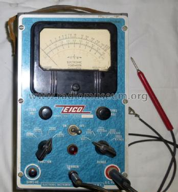 Vacuum-Tube Voltmeter Kit 221-K; EICO Electronic (ID = 1460228) Equipment