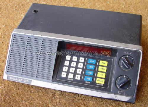Bearcat Scanner BC-210; Electra Co. / Corp. (ID = 956046) Receiver-C