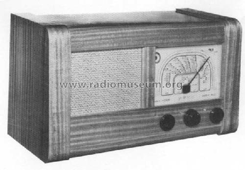 Rex Radio 54-5A Radio Elektrisk Bureau, A/S; Oslo, build 194