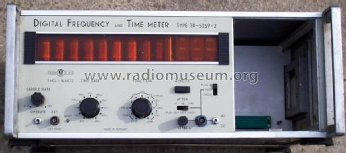 Digital Frequency & Time Meter TR-5259 / 1646/2; EMG, Orion-EMG, (ID = 794269) Equipment