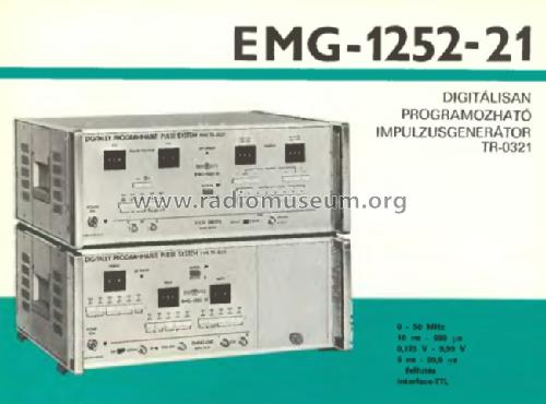 Digitaly Programmable Pulse Generator 1252-21 / TR-0321; EMG, Orion-EMG, (ID = 906805) Equipment