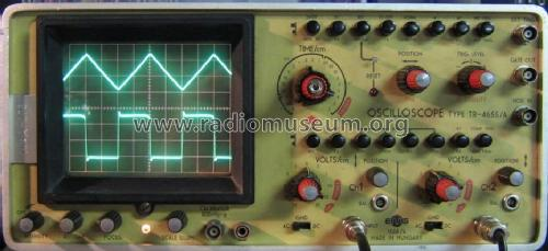 Dual Beam Oscilloscope 1568/A TR-4655/A); EMG, Orion-EMG, (ID = 795657) Equipment