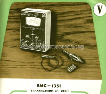 mV Meter 1351; EMG, Orion-EMG, (ID = 1254985) Equipment