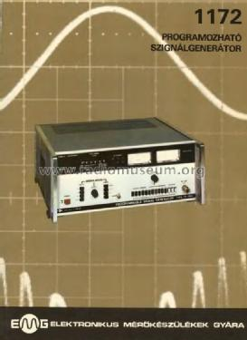 Programmable Signal Generator 1172; EMG, Orion-EMG, (ID = 908770) Equipment