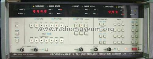 Programmable X-tal Controlled Function Generator TR-0467 / 12754; EMG, Orion-EMG, (ID = 799581) Equipment