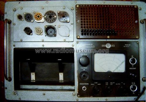Vacuum Tube Tester 1813 Equipment Elektronikus Mérökészüléle