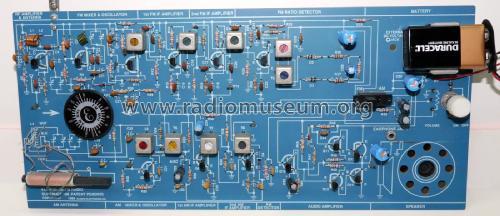 AM-FM-108 Kit Elenco Electronics Inc , Illinois, build 1989&