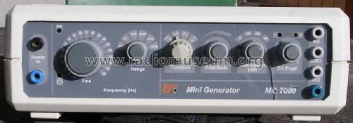 mini funktionsgenerator mg7000 equipment elv elektronik ag. Black Bedroom Furniture Sets. Home Design Ideas
