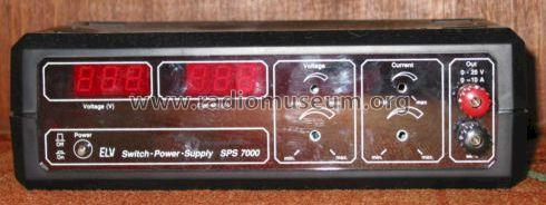 switch power supply sps 7000 equipment elv elektronik ag. Black Bedroom Furniture Sets. Home Design Ideas