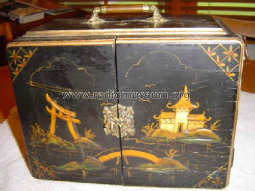 321AW Chinese Chest 'Oriental Garden' Radio Emerson Radio &