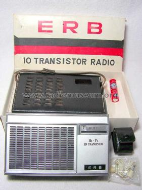 ERB H1-F1 10 Transistor Radio ; Erb; where (ID = 946184) Radio
