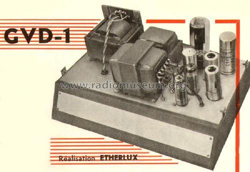 chaine haute fid lit gvd1 ampl mixer etherlux paris. Black Bedroom Furniture Sets. Home Design Ideas
