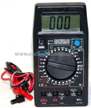 Digital-Multimeter M3900; Eumig Industrie-TV (ID = 673999) Equipment