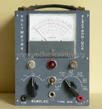 Voltmetre electronique