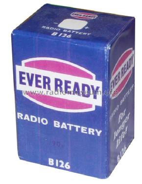 Radio Battery B126; Ever Ready Co. GB (ID = 363581) Power-S