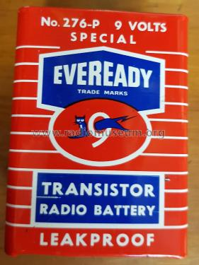 9 Volt Battery 276-P; Ever-Ready/Eveready (ID = 2525946) Power-S