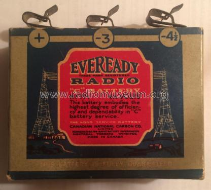 Radio 'C' Battery 771 ; Eveready Ever Ready, (ID = 2520233) Power-S