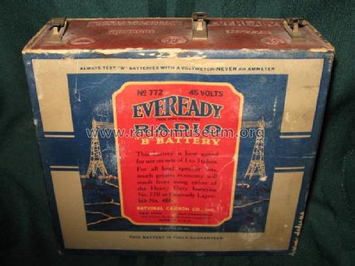 B-Battery 772; Eveready Ever Ready, (ID = 614436) Power-S