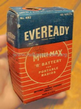 B battery 482; Eveready Ever Ready, (ID = 1609691) Power-S