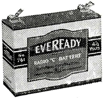 General Purpose Battery 761; Eveready Ever Ready, (ID = 477079) Power-S